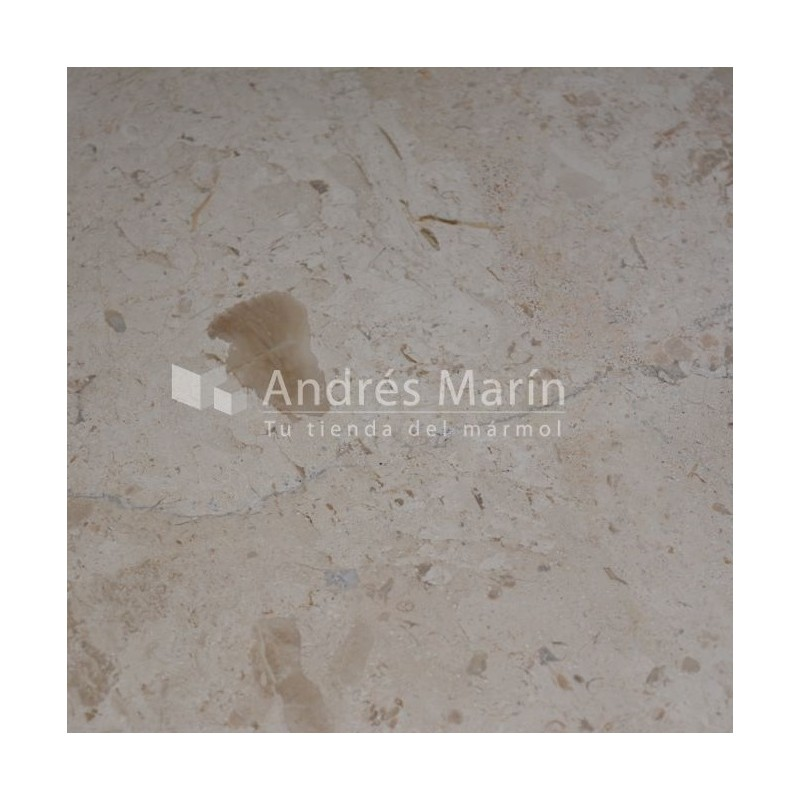 creme coral marbre