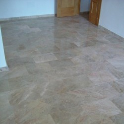 serpiente cream marble with brown veins
