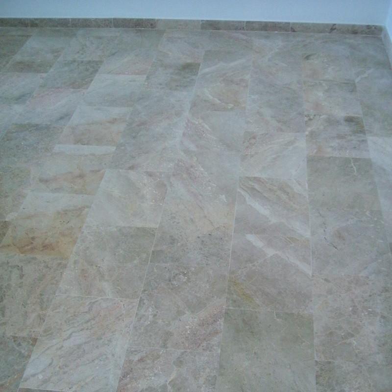 marbre sols poli
