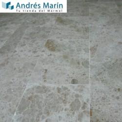 tiles of marble cream
