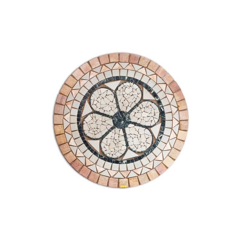 Rosetón de mármol dibujo flor, Outlet Mármoles y granitos