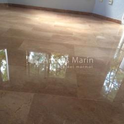 pink marble floor