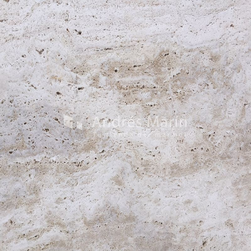 Travertine Cream Open Pore raw